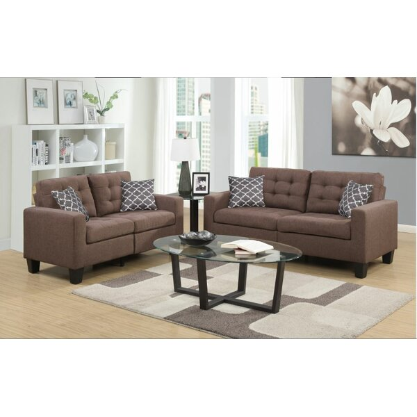 Bateson Configurable Living Room Set by Alcott Hill