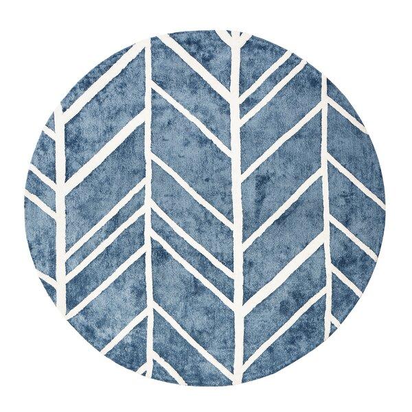Castleberry Blue Area Rug by Brayden Studio