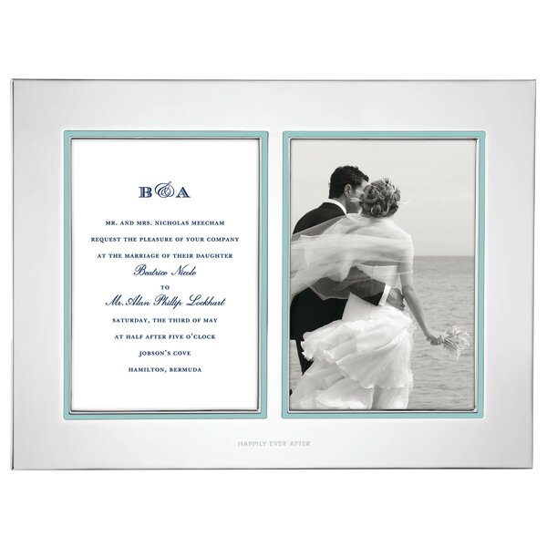 Take the Cake Double Invitation Picture Frame by kate spade new york