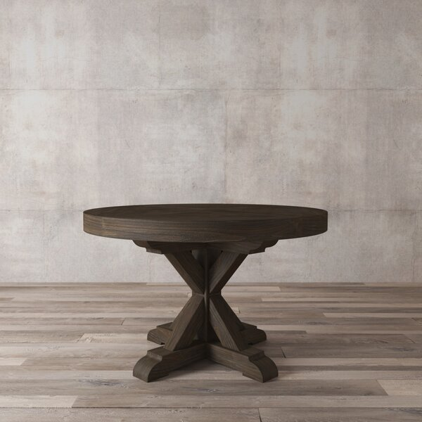 Lampert Solid Wood Dining Table by One Allium Way