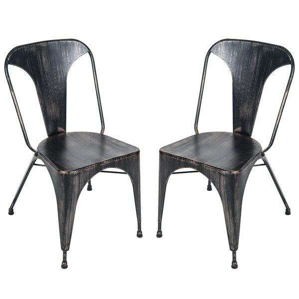 Merlin Dining Chair (Set of 2) by Gracie Oaks