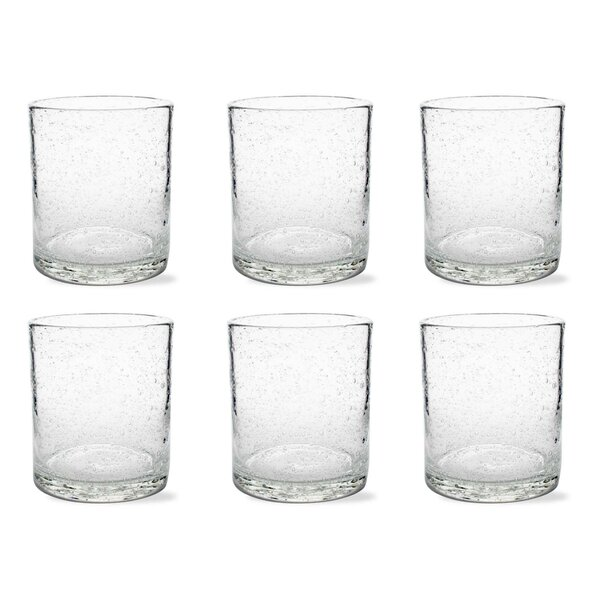 Tag Bubble Double Old Fashion Glass (Set of 6) by TAG