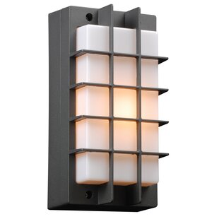 Affordable Schulze 1-Light Outdoor Flush Mount By World Menagerie