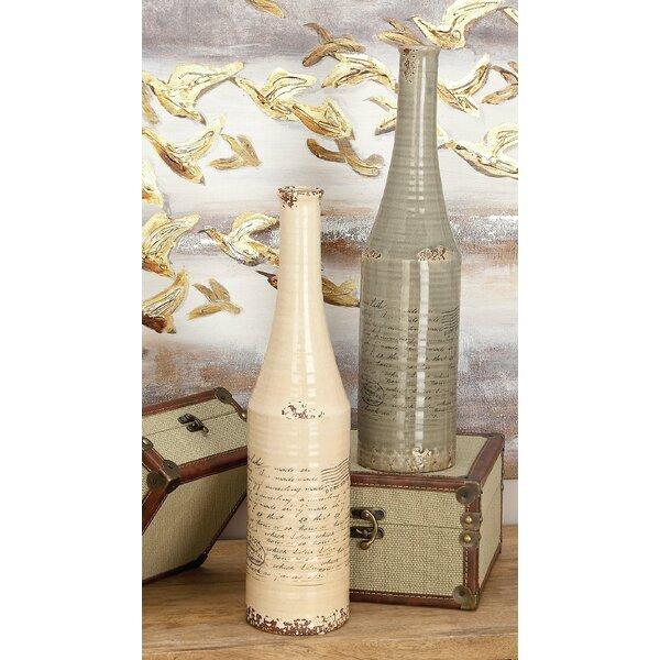 Ceramic Vase (Set of 2) by Cole & Grey