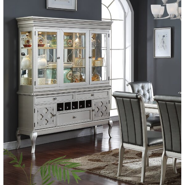Beulah Lighted China Cabinet by Rosdorf Park Rosdorf Park