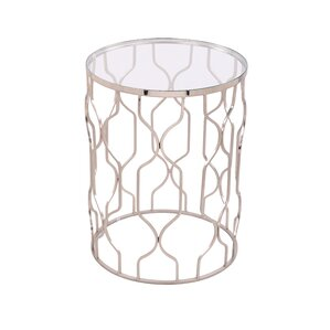 Stylish Splendor End Table by Foreign Affair..