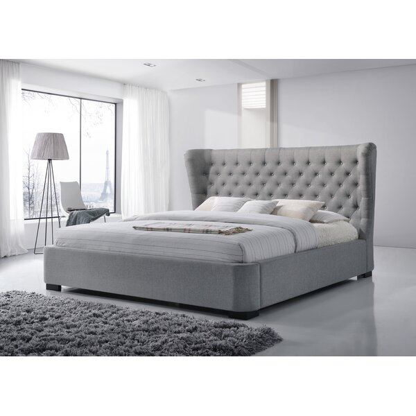 Manchester Upholstered Platform Bed by LuXeo