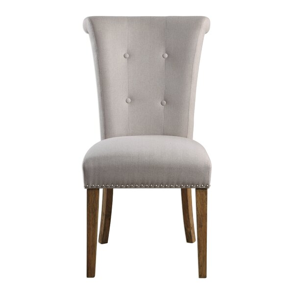 Forbes Oatmeal Side Chair by Darby Home Co Darby Home Co