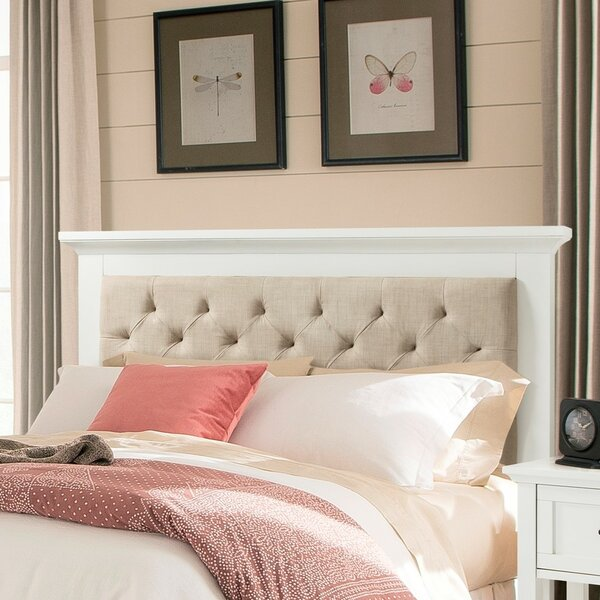 Eibhlin Queen Upholstered Panel Headboard by Rosdorf Park