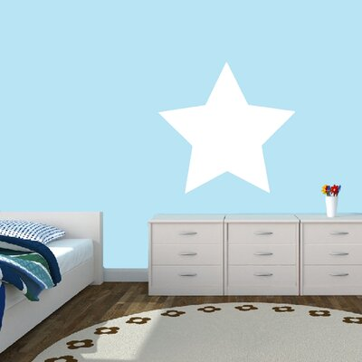 Dry Erase Star Whiteboard Wall Decal