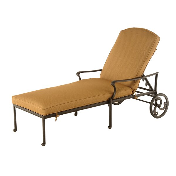 Merlyn Reclining Chaise Lounge by Fleur De Lis Living