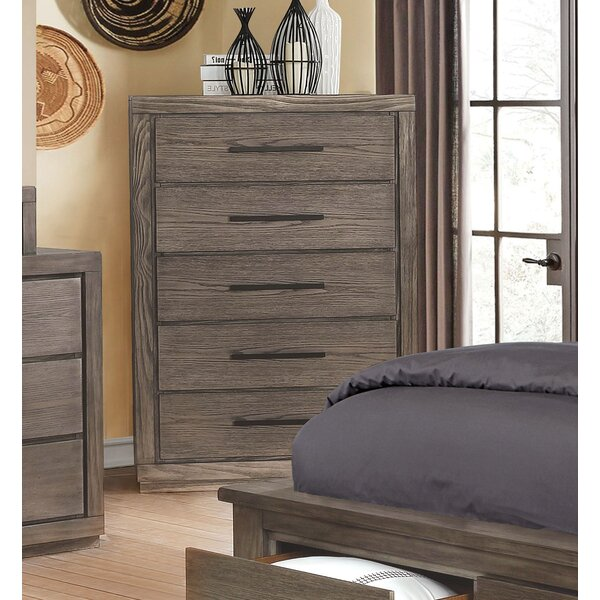 Mcmillen 5 Drawer Chest by Gracie Oaks