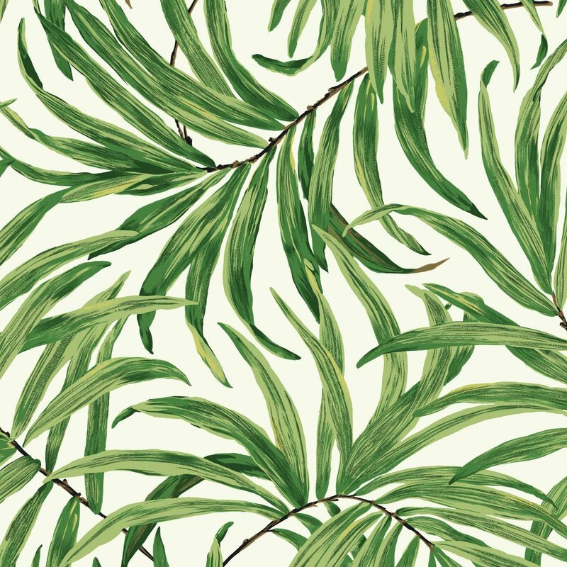 Ashford Tropics 27 X Bali Leaves Wallpaper Roll