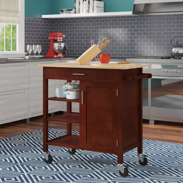 Elian Kitchen Cart by Ebern Designs
