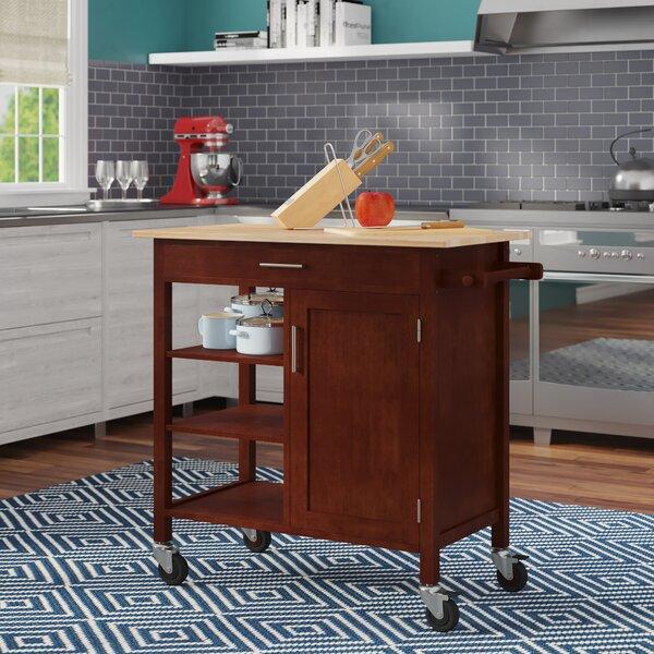 Elian Kitchen Cart by Ebern Designs
