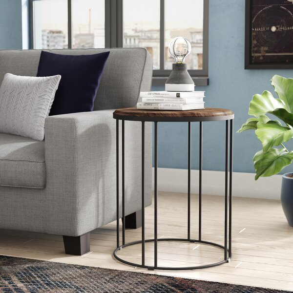 Myhre End Table by Williston Forge