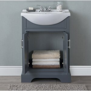 Ahearn 24 Single Vanity Set Charlton Home