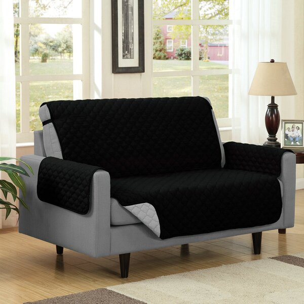 Box Cushion Loveseat Slipcover by Symple Stuff