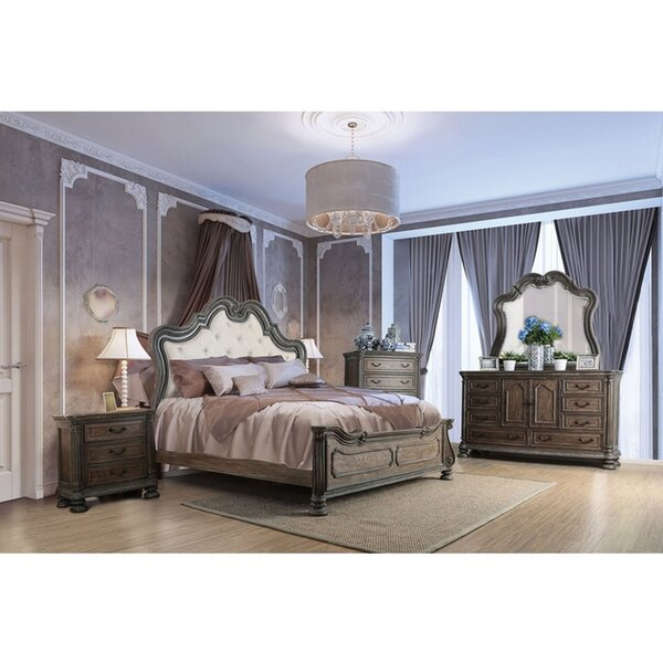 Aydin 4 Piece Bedroom Set (Set of 4) by Astoria Grand