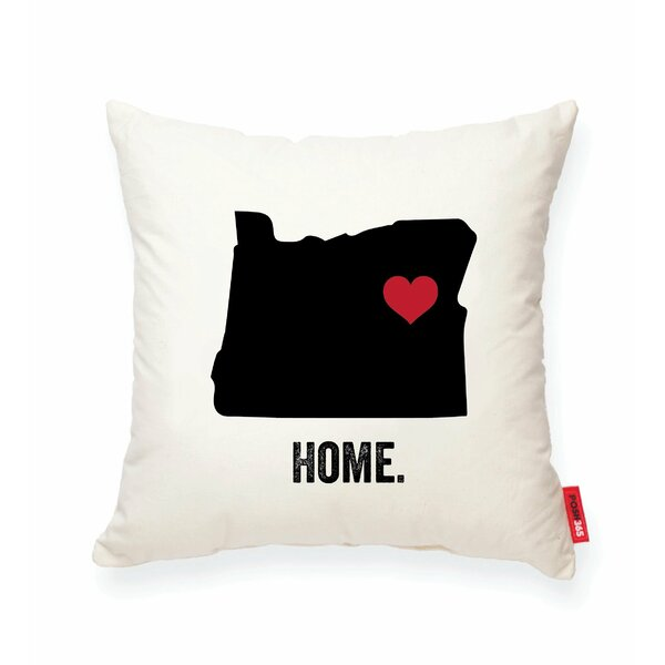 Pettry Oregon Cotton Throw Pillow by Wrought Studio