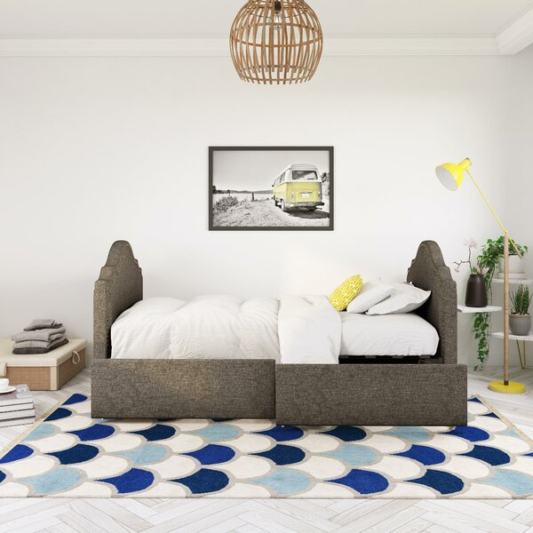 Emma Upholstered Daybed with Storage by Novogratz