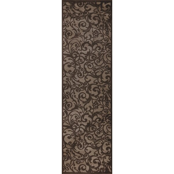 Bussiere Brown Area Rug