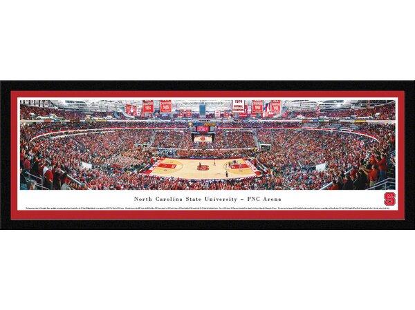 NCAA North Carolina State University - Basketball by Christopher Gjevre Framed Photographic Print by Blakeway Worldwide Panoramas, Inc