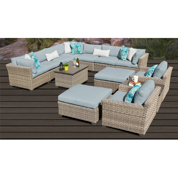 Rochford 13 Piece Sectional Seating Group with Cushions