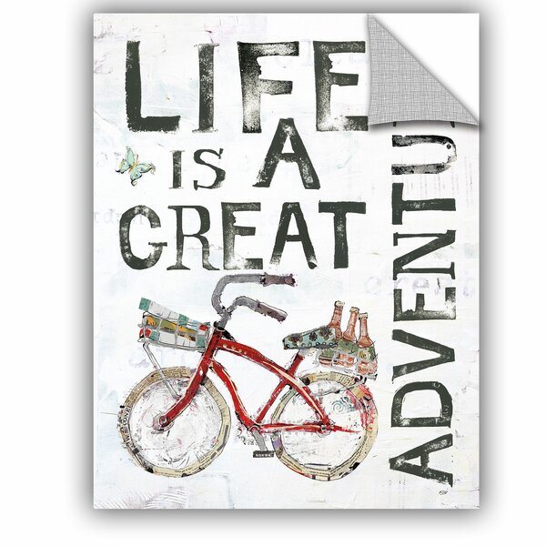 Koziol Life is a Great Adventure Wall Decal by Zipcode Design