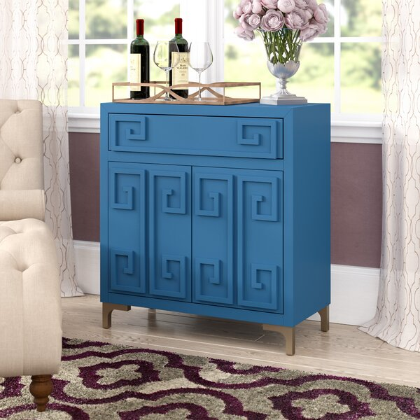 Gilbery 2 Door Wine Bar Cabinet by Everly Quinn