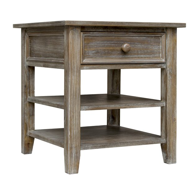 Tribeca End Table with Storage by August Grove August Grove