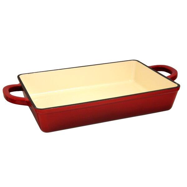 Artisan Rectangular Non-Stick Enameled Baking Dish by Crock-pot