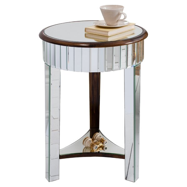 Round Mirrored Side Tables You Ll Love Wayfair Co Uk