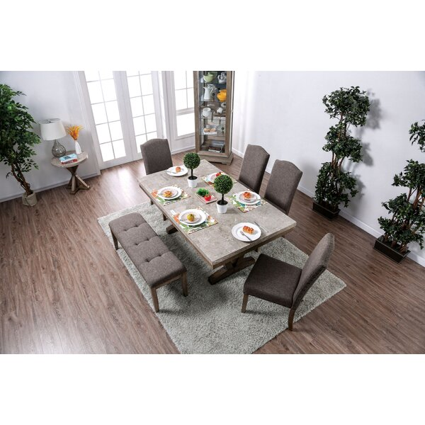 Abigail 6 Piece Dining Set by One Allium Way