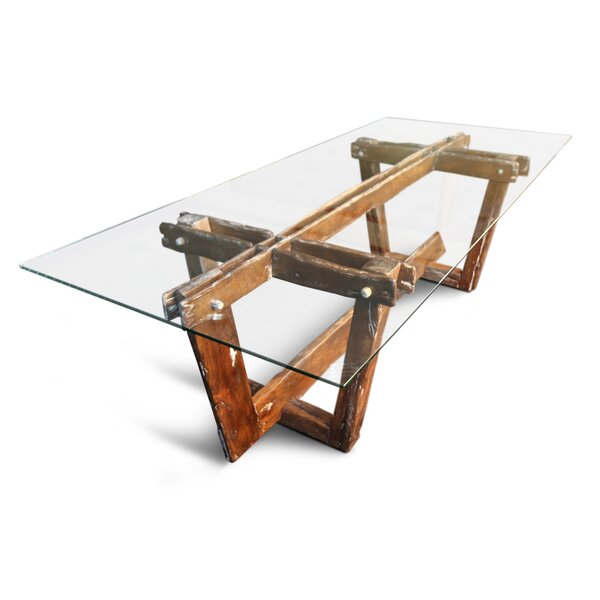 Oliphant Solid Wood Dining Table by Foundry Select