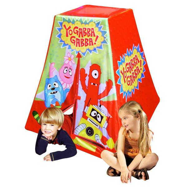 Nickelodeon Yo Gabba Gabba Play Tent by Kid's Adventure