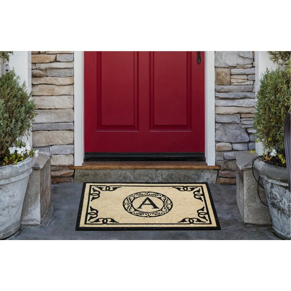 Hagerty Bleach Printed Doormat by Alcott Hill