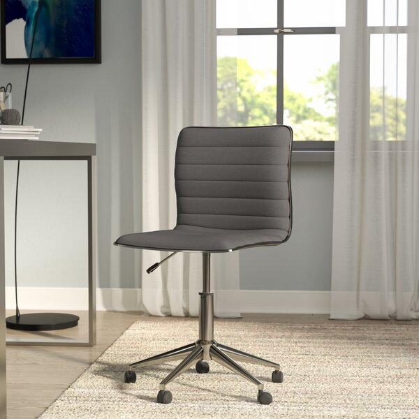 Bedminster Down Mid-Back Desk Chair by Wade Logan