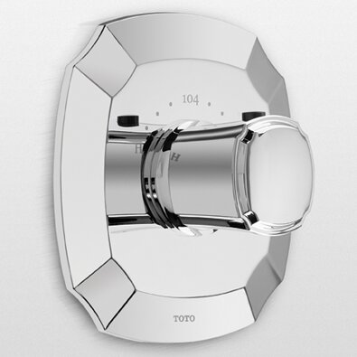 Duofit Thermostatic Shower and Tub Valve by Toto