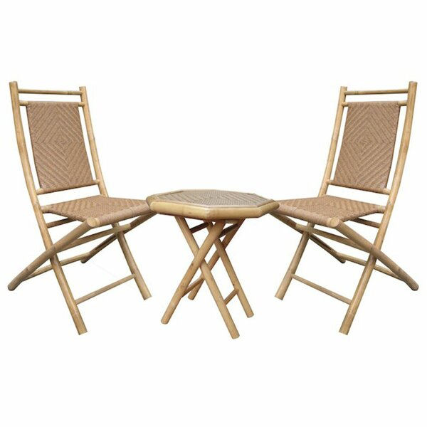 Roseman 3 Piece Seating Group by World Menagerie