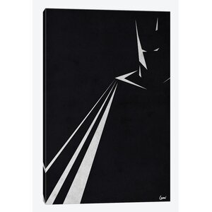 'PH-Batman' Graphic Art on Wrapped Canvas by East Urban Home