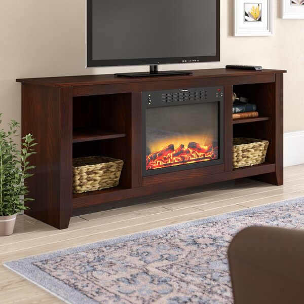 Brook Hollow 62.8 Electric Fireplace by Alcott Hill