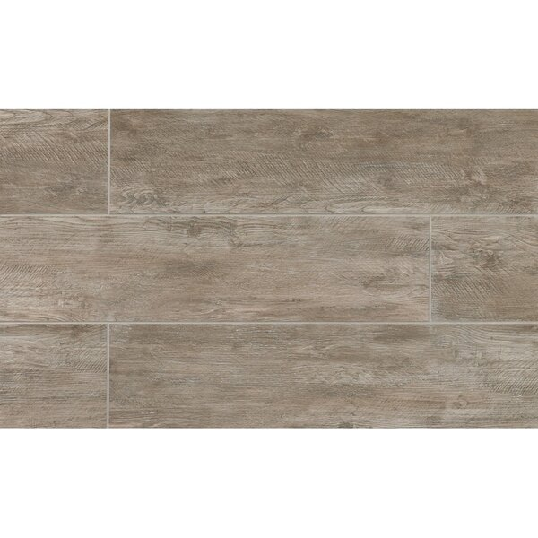 Santa Monica 8 x 24 Porcelain Wood Tile in 3rd Street by Grayson Martin
