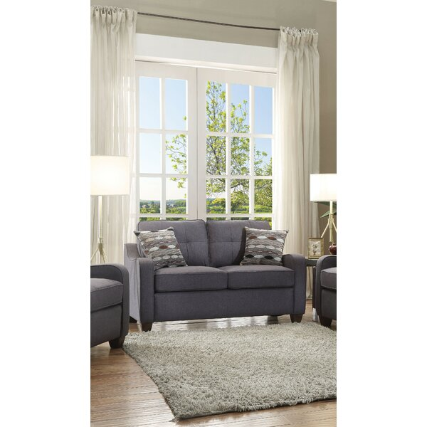 Online Review Johson Loveseat by Charlton Home by Charlton Home