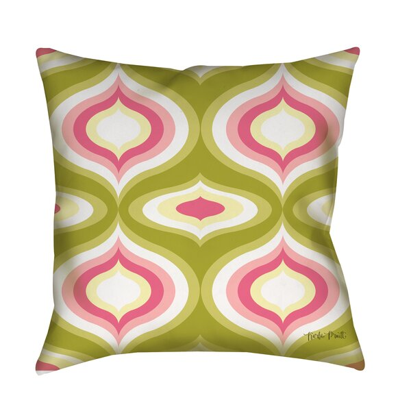 Britney Geo Printed Throw Pillow by Manual Woodworkers & Weavers