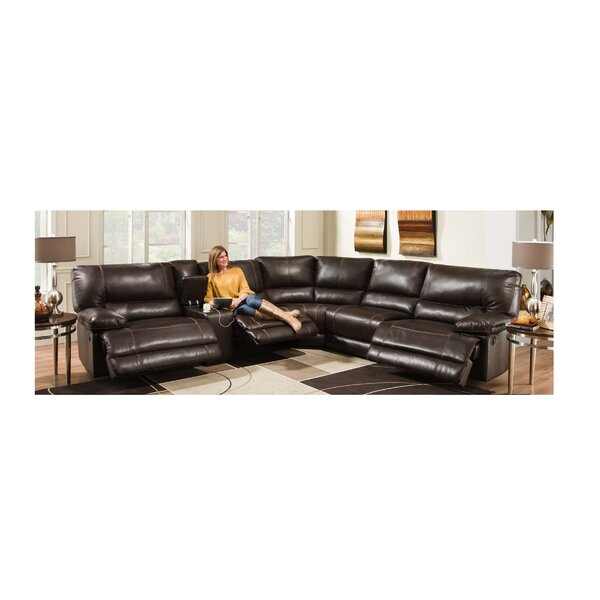 Free Shipping Bane Right Hand Facing Reclining Sectional