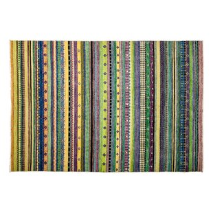 One-of-a-Kind Lori Hand-Knotted Multicolor Area Rug ByDarya Rugs