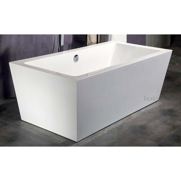 Luxury 32 x 70 Freestanding Soaking Bathtub by Luxier