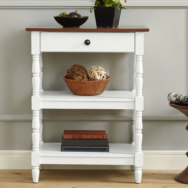 Cheridon End Table with Storage by August Grove