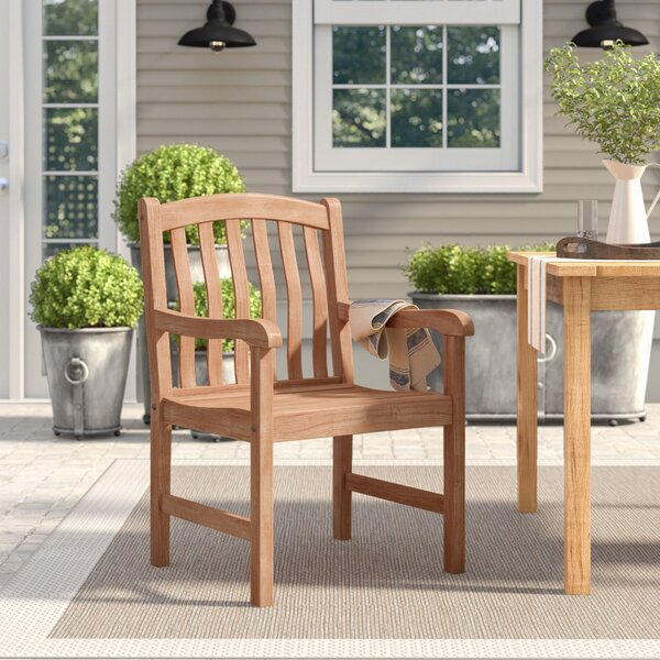 Summerton Teak Patio Dining Chair by Birch Lane™ Heritage